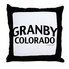 Granby Colorado Throw Pillow