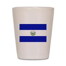 El Salvador Shot Glass