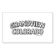 Grandview Colorado Decal