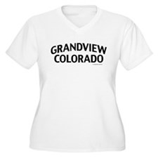 Grandview Colorado Plus Size T-Shirt