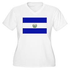 El Salvador Plus Size T-Shirt
