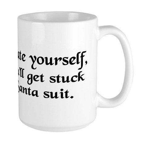 Santa Kerry Large Mug