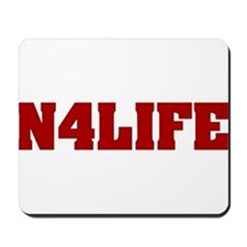 N4LIFE (IN FOR LIFE) Mousepad