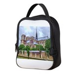 paris notra dam B.jpg Neoprene Lunch Bag