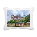 paris notra dam B.jpg Rectangular Canvas Pillow