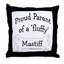 Mastiff Misc 1 Throw Pillow