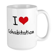 I love Cohabitation Mug