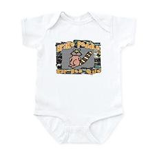 Brake Peddle BBQ Infant Bodysuit