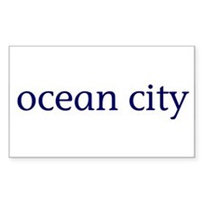 Ocean City Rectangle Decal
