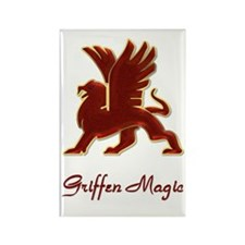 Classic Griffen Rectangle Magnet