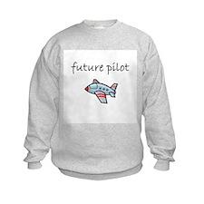 future pilot.bmp Sweatshirt