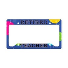 Retired Teacher License Plate Holder