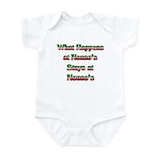 What Happens at Nonno's Stays Infant Bodysuit