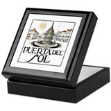 Puerta del Sol, Madrid - Spain Keepsake Box