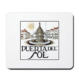 Puerta del Sol, Madrid - Spain Mousepad