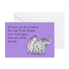 Parades Are Gay Greeting Card