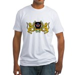 Masonic Blue Lodge Lions Crest Fitted T-Shirt