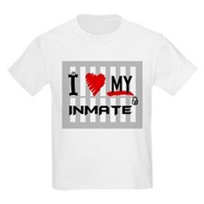 Love My Inmate Kids T-Shirt