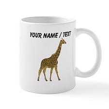 Custom Giraffe Mug