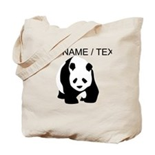 Custom Panda Bear Tote Bag