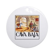 Cava Baja, Madrid - Spain Ornament (Round)