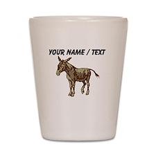 Custom Donkey Shot Glass
