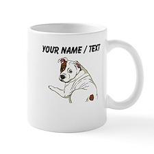 Custom Cute Bulldog Mug
