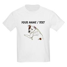 Custom Cute Bulldog T-Shirt