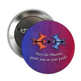 "Warding off Evil (Phoenix) 2.25"" Button (100 pack)"