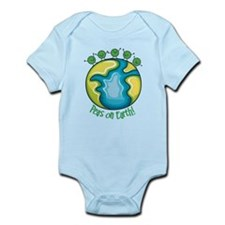 Peas on Earth Body Suit