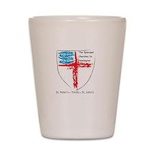 Episcopal Churches in Huntington Shot Glass