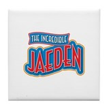 The Incredible Jaeden Tile Coaster