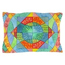 Sacred Geometry Pillow Case