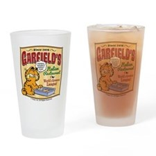 Garfield's Italian Restaurant Drinking Glass