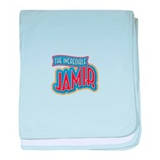 The Incredible Jamir baby blanket