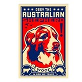 Australian Shepherd! Postcards -(8 Pack)