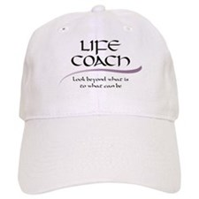 Life Coach. Look Beyond Baseball Cap