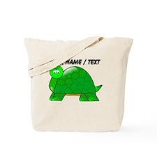 Custom Cartoon Turtle Tote Bag