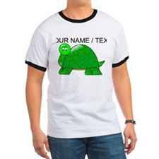 Custom Cartoon Turtle T-Shirt