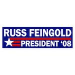 Russ Feingold: President '08 car sticker