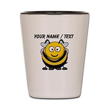 Custom Cartoon Bumble Bee Shot Glass
