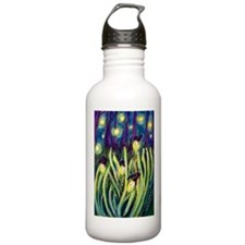 Fireflies Water Bottle