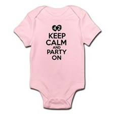 Funny 42 year old gift ideas Infant Bodysuit