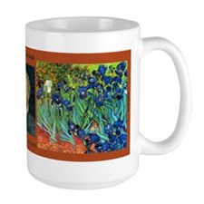 Vincent van Gogh - Irises Coffee Mug