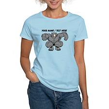 Custom Rhino Mascot T-Shirt