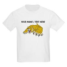 Custom Saber Tooth Tiger Mascot T-Shirt