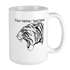 Custom Angry Tiger Mug