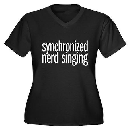 nerd singing Plus Size T-Shirt