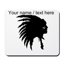Custom War Chief Mousepad