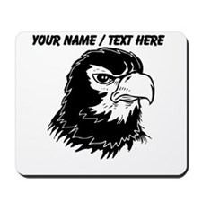 Custom Angry Eagle Mascot Mousepad